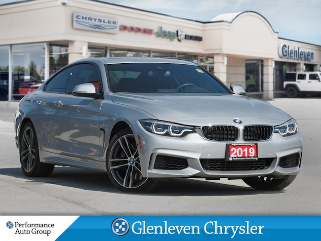 2019 BMW 4 Series XDRIVE M Sport Pkg Premium Pkg Enhanced Coupe