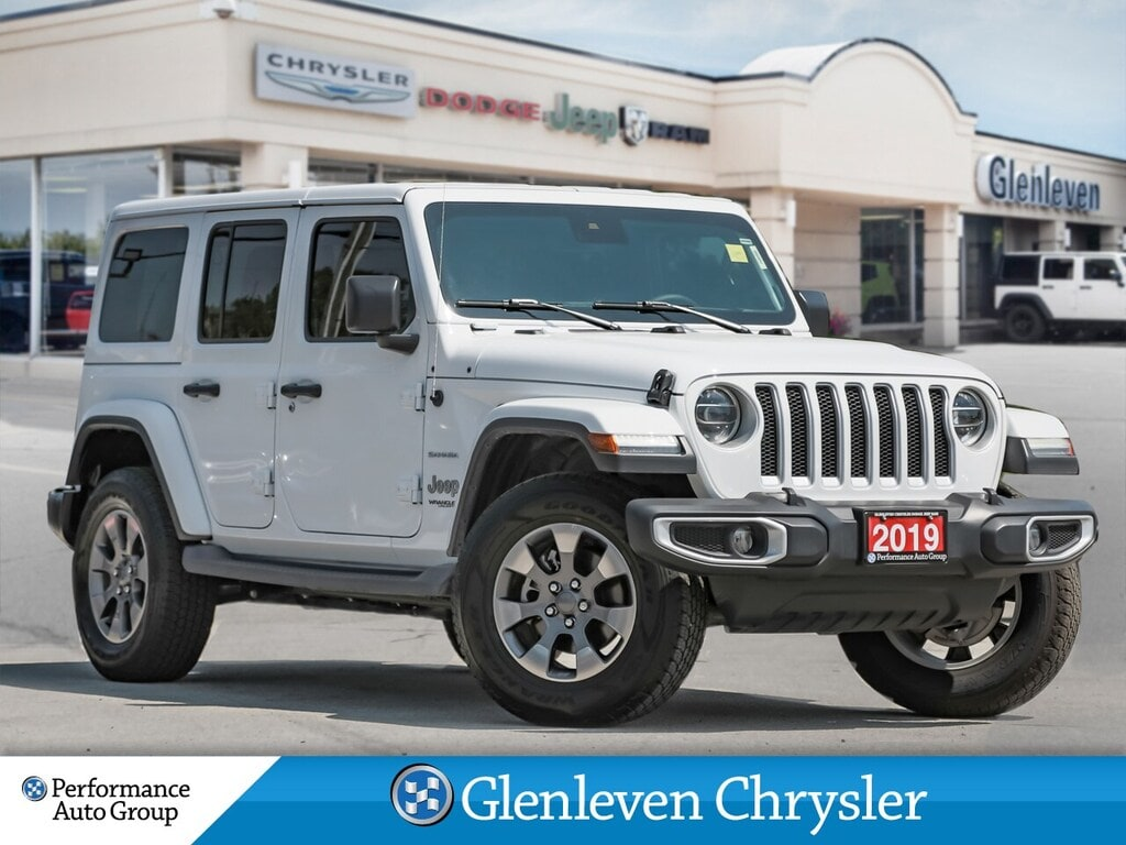 2019 Jeep Wrangler Unlimited JL Sahara Leather Navi Advanced Safety p SUV
