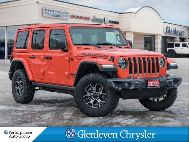 2019 Jeep Wrangler Unlimited Rubicon Leather Sky Power Soft Top Navi LED Lights SUV