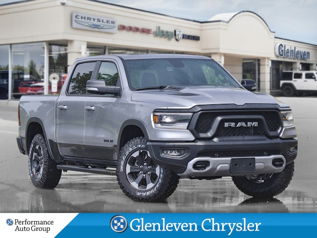 2019 Ram All-New 1500 Rebel air suspension pano roof 12inch screen Truck Crew Cab