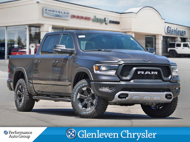 2019 Ram All-New 1500 Rebel 12 inch screen navigation leather Truck Crew Cab