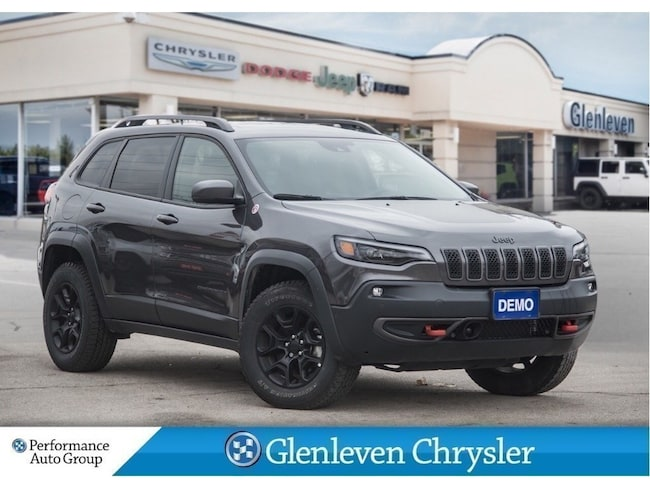 2019 Jeep Cherokee Trailhawk Leather Plus Pano Roof Navi SUV