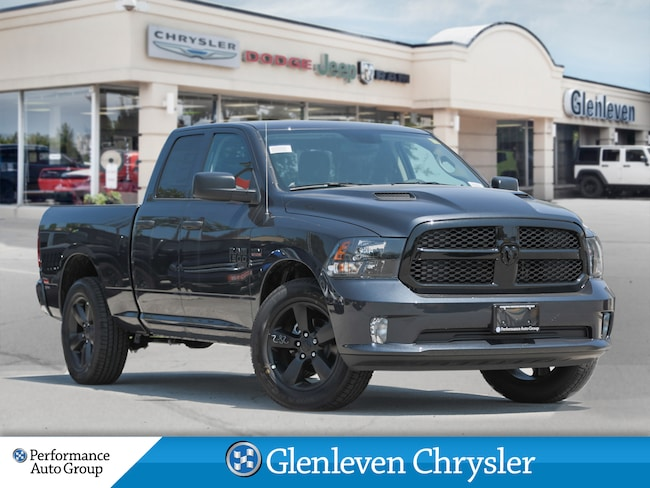 2019 Ram 1500 Classic Night Express Edition sport performance hood Truck Quad Cab