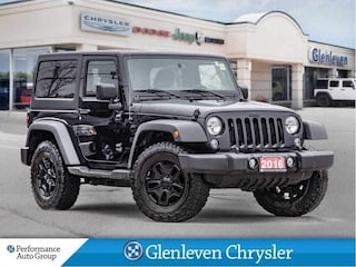 2016 Jeep Wrangler Willys Dual Tops A/C Bluetooth SUV