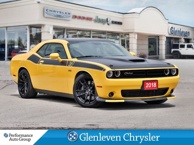 2017 Dodge Challenger R/T 392 Scat Pack Leather Sunroof Navi Coupe