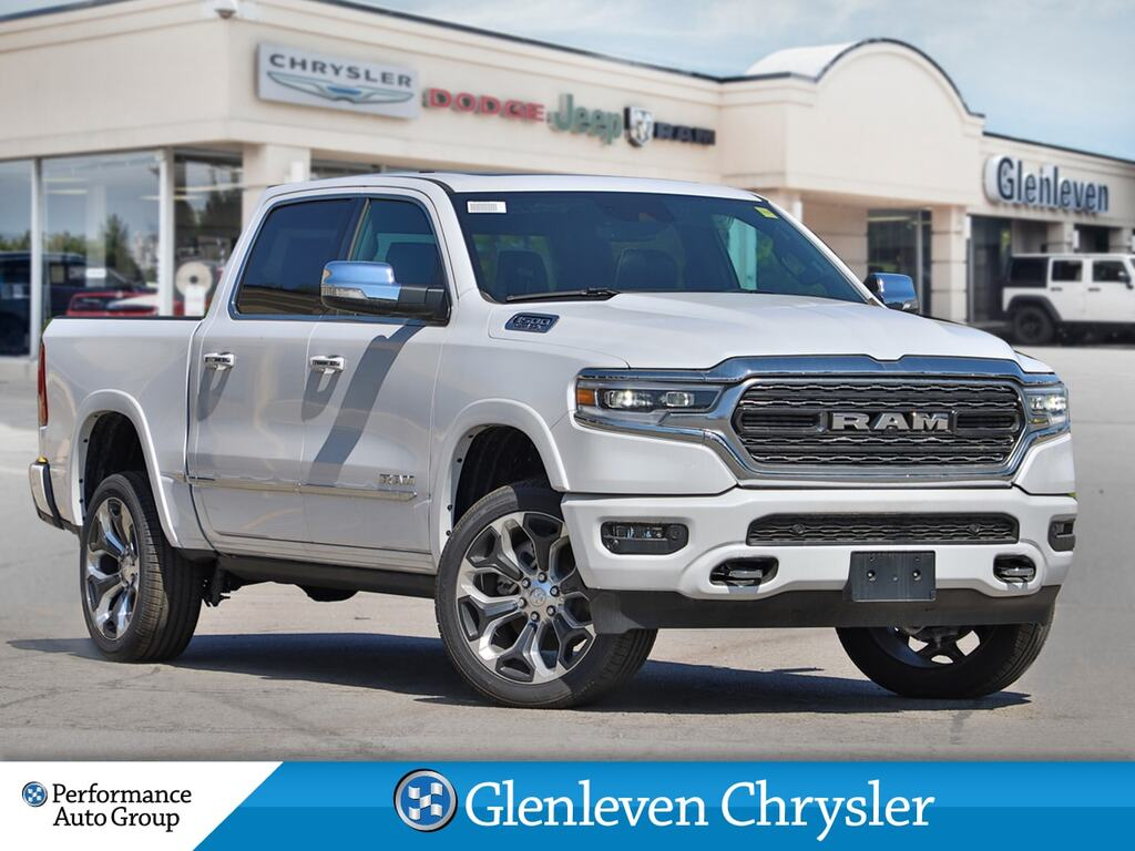 2019 Ram All-New 1500 Limited pano roof harmon kardon audio adpt cruise Truck Crew Cab