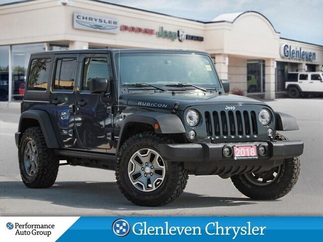 2018 Jeep Wrangler JK Unlimited Rubicon  Navigation Upgraded Tires SUV