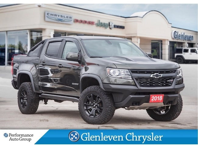 2018 Chevrolet Colorado ZR2 Dusk Special Edition Leather Crew Cab