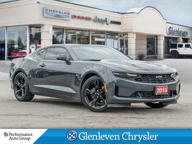 2019 Chevrolet Camaro 2LT Leather Interior Heated + Ventilated Seats Coupe