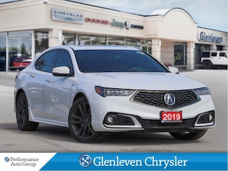 2019 Acura TLX SH-AWD Tech A Spec Navigation Leather Sunroof Sedan