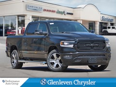 2019 Ram All-New 1500 Sport 12inch pano roof adpt cruise Truck Crew Cab