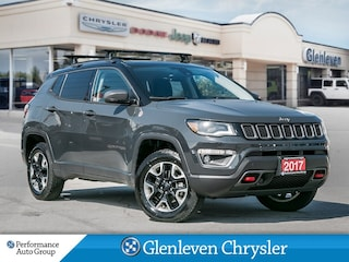 2017 Jeep Compass Trailhawk Sunroof Navigation SUV