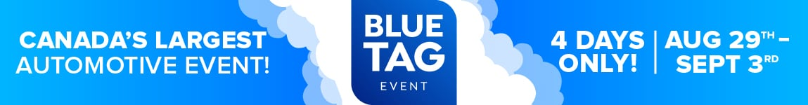 Blue Tag Sales Event