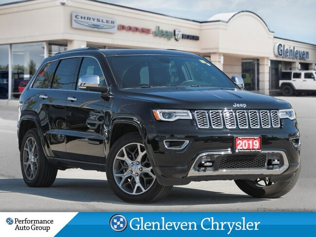 2019 Jeep Grand Cherokee Overland Navigation Pano Roof Leather SUV