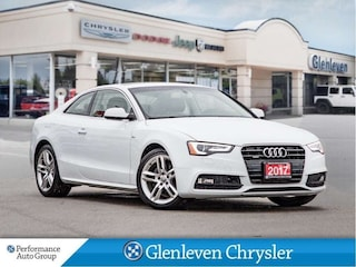 2017 Audi A5 Technik Quattro S Line Leather Navigation Coupe
