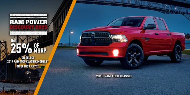 2019 RAM Classic Special Offer