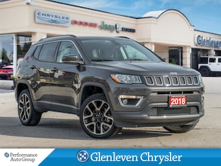 2018 Jeep Compass Limited 4x4 Leather Panoramic Roof Navigation SUV