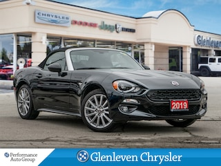 2019 FIAT 124 Spider Leather Navi Bose Sound Conv+Visibility Groups Convertible