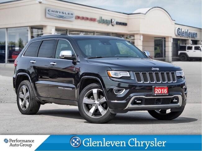 2016 Jeep Grand Cherokee Overland Leather Navi Sunroof Tech Group SUV