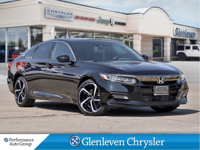 2020 Honda Accord Sedan 1.5L Sport Manual Sunroof Tinted Windows Sedan