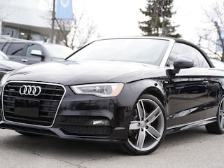 2016 Audi A3 2.0T Cabriolet Quattro | Navigation | Leather | He Convertible