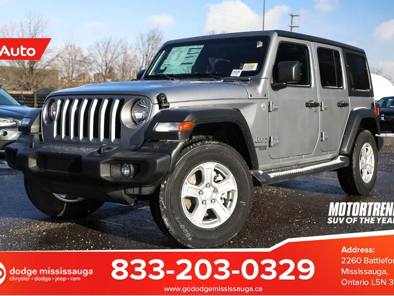 2019 Jeep Wrangler Unlimited Sport SUV