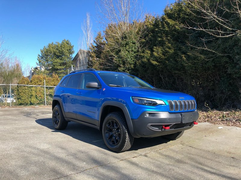 2019 Jeep Cherokee Trailhawk 4X4 + Apple Carplay & Google Android Aut SUV