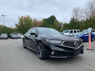 2018 Acura TLX Tech A-Spec + Navi + Sunroof + Blind-Spot + NO Ext Sedan