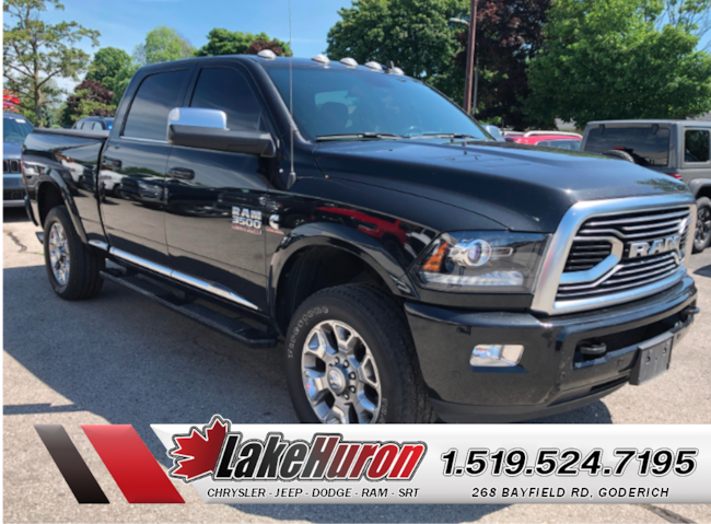 2018 Ram 3500 Limited *TOTAL LUXURY* Truck Crew Cab