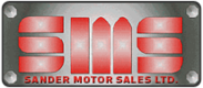 Sander Motor Sales Ltd.