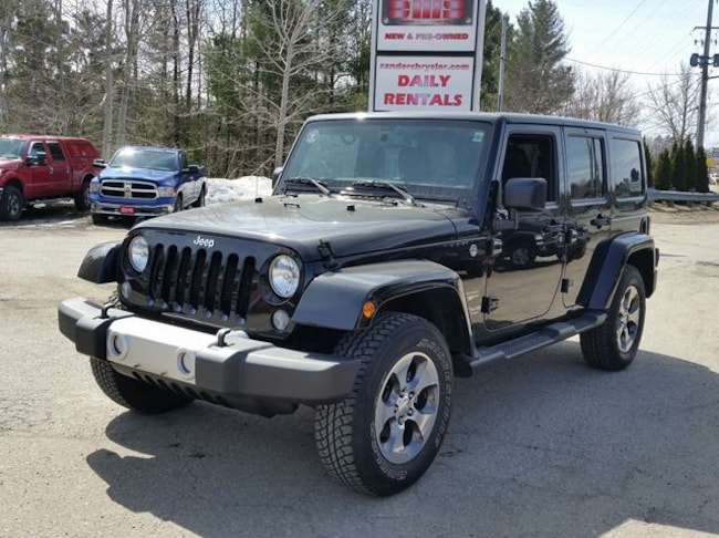 2015 Jeep Wrangler Unlimited Sahara Wagon
