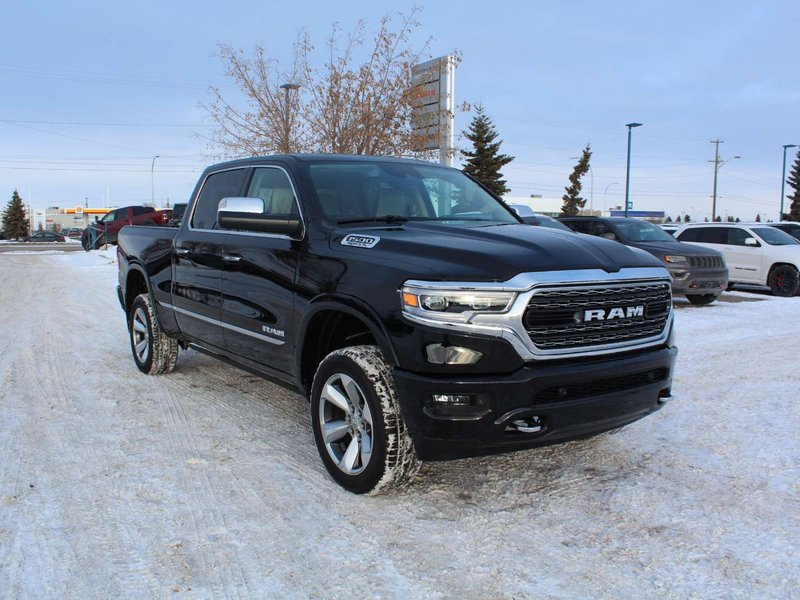 2019 Ram 1500 Limited; Four Wheel Drive, Frost Leather Interior, Pickup