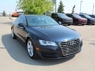 2014 Audi A7 3.0T Technik; 3L V6 Engine, ALL Wheel Drive, White Sedan