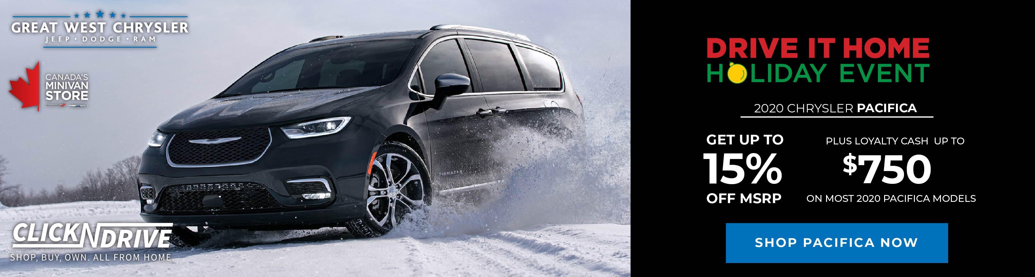 Chrysler Dealer in Edmonton, AB | Great West Chrysler
