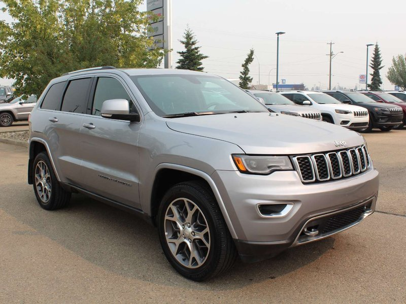 2018 Jeep Grand Cherokee Sterling Edition; 3.6L V6, 4 Wheel Drive, Heated S SUV