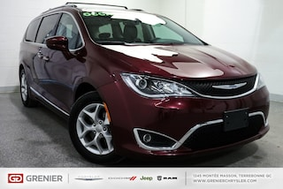 2018 Chrysler Pacifica Touring+L+Cuir+7 Pass+Apple CAR Touring+L+Cuir+8 P Mini-Fourgonnette
