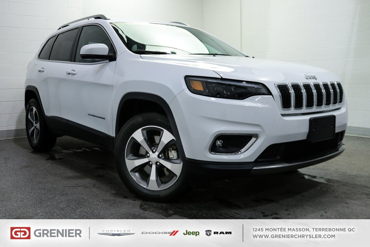 2019 Jeep Cherokee Limited+V6+Cuir Limited+V6+Cuir VUS