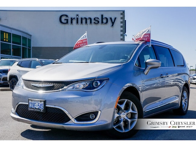 2018 Chrysler Pacifica Leather Sunroof DVD-Sold