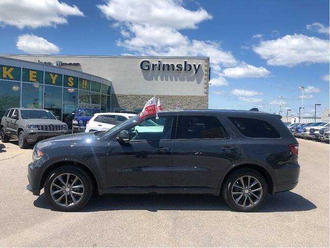2018 Dodge Durango GT AWD Navigation Leather SUV