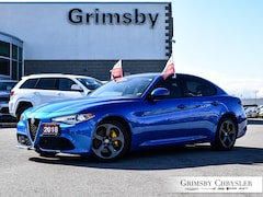 2018 Alfa Romeo Giulia AWD NAV Leather-Gorgeous Blue Sedan