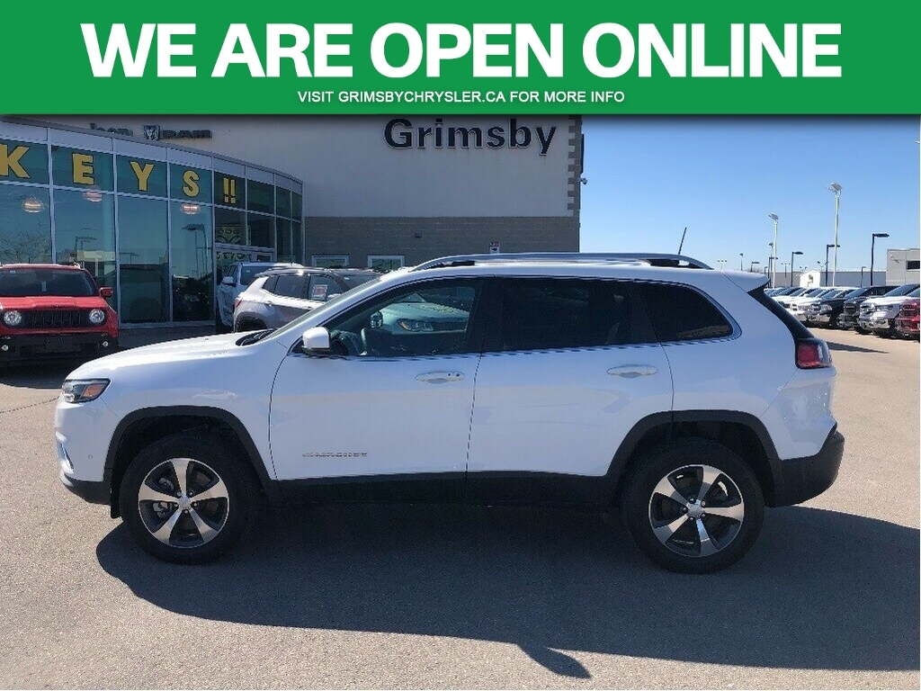 2019 Jeep Cherokee Limited HEATED/VENTED LEATHER ROOF TOW TECH GROUP SUV