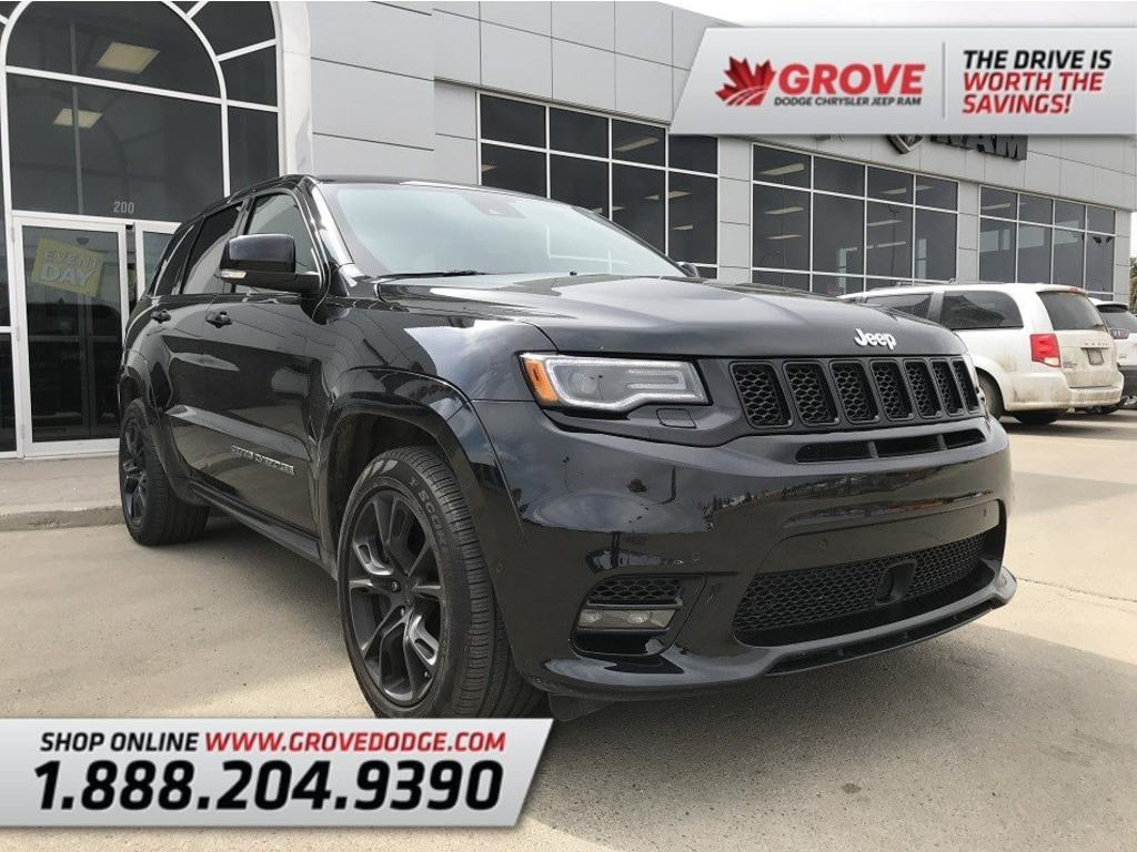 2017 Jeep Grand Cherokee SRT  Sunroof  Navigation  Low KM  4WD SUV