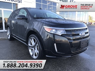2013 Ford Edge Sport| Sunroof| Leather| AWD| Remote Start Sport AWD
