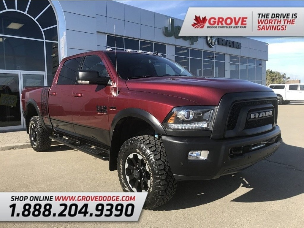 2018 Ram 2500 Power Wagon  Leather/Suede  Low KM  4X4 Truck Crew Cab