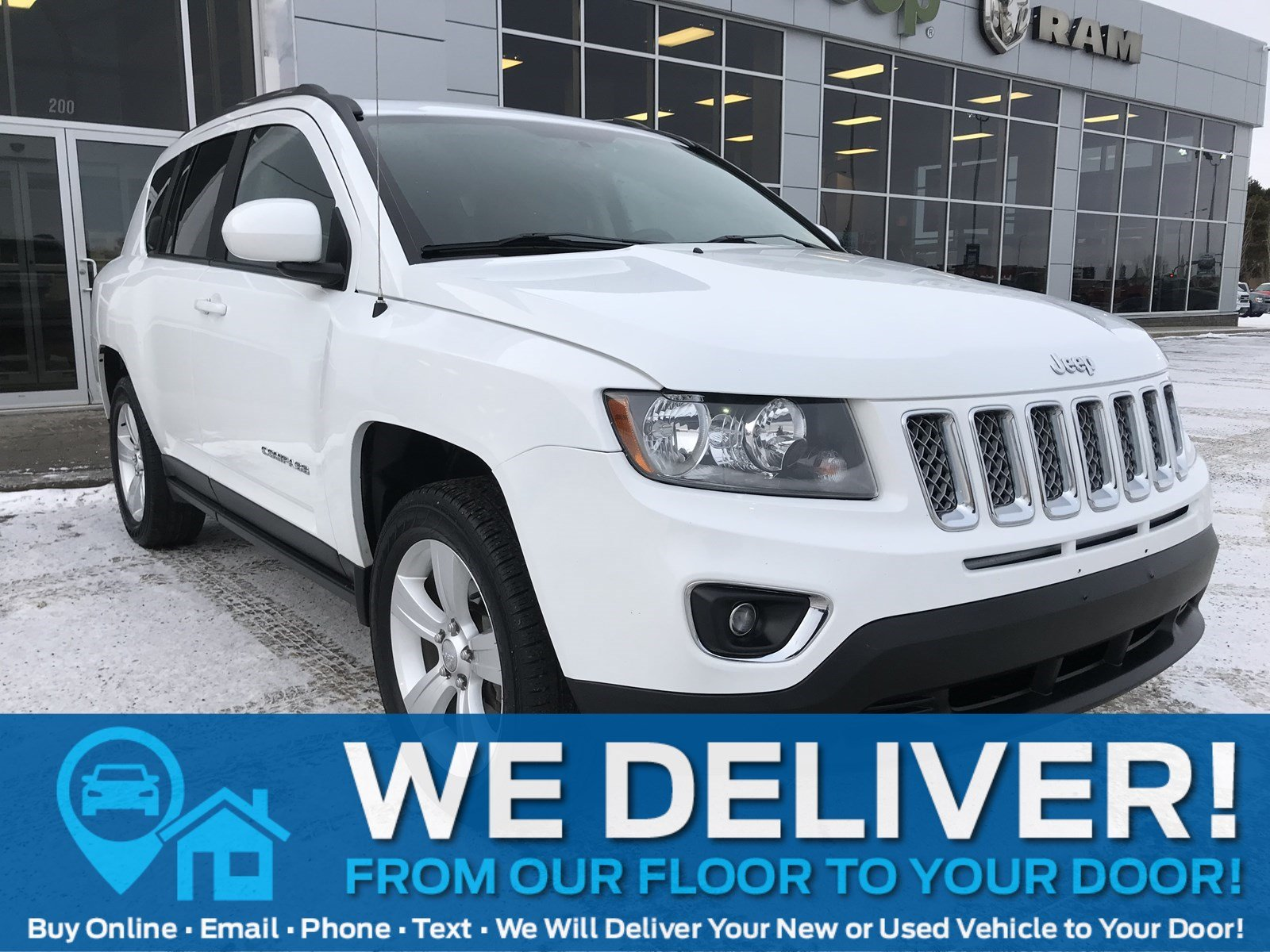 2016 Jeep Compass High Altitude| 4X4| Leather| Sunroof| CD Player 4WD  High Altitude