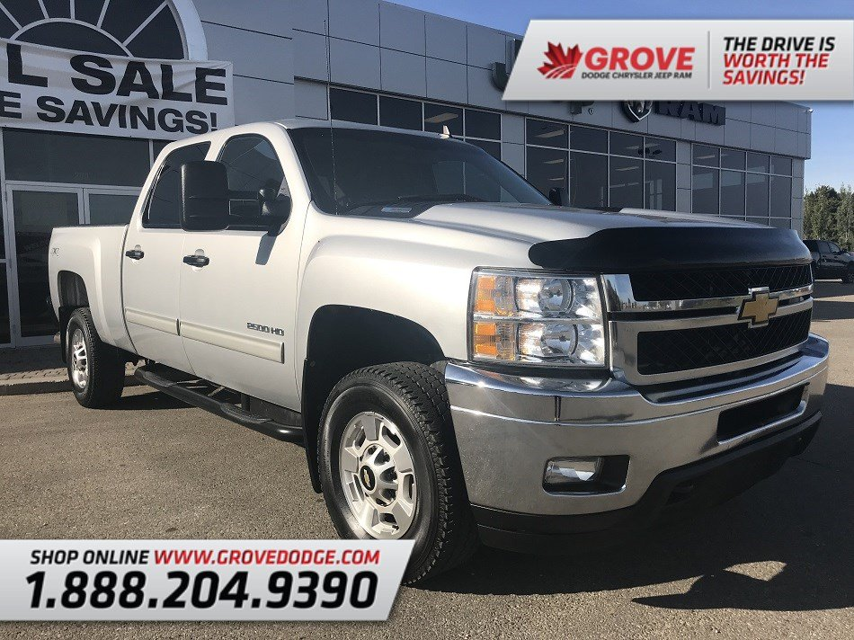2012 Chevrolet Silverado 2500HD LT| Cloth| 4X4| Remote Start| AUX Truck Crew Cab