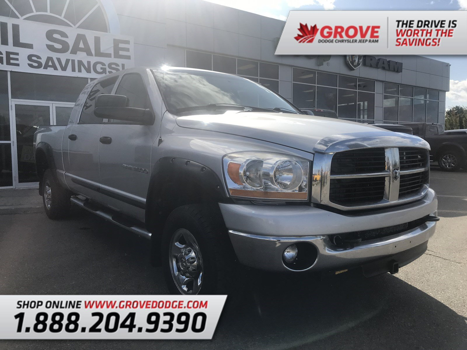 2006 Dodge Ram 3500 SLT| Cloth| Seats 6| CD Player Truck Mega Cab