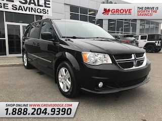 2016 Dodge Grand Caravan Crew| Cloth| Remote Start| DVD Wagon