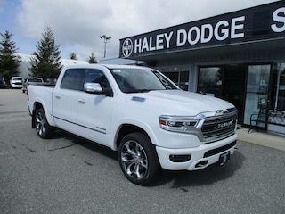 2020 Ram 1500 LIMITED -- COLOR MATCH BUMPERS -- POWER BOARDS!! Truck Crew Cab