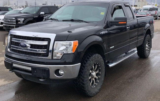 2013 Ford F-150 XLT -- 4X4 -- ECO BOOST -- LIFTED! Truck SuperCab